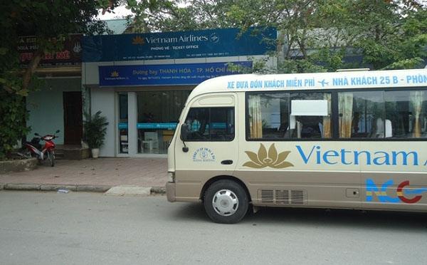 Bạn có thể lựa chọn xe Nội Bài của Vietnam Airlines